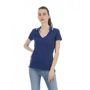 Tommy Hilfiger Women Casual Wear Blue Top