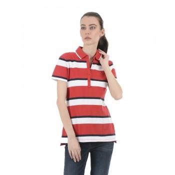 Tommy Hilfiger Women Red Casual Wear T-Shirt