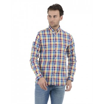 Tommy Hilfiger Men Casual Wear Multicolor Shirt