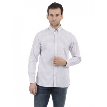 Tommy Hilfiger Men Blue Casual Wear Shirt