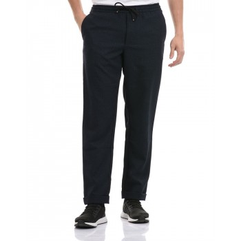 Tommy Hilfiger Men Casual Wear Navy Trouser