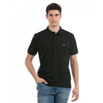 Tommy Hilfiger Men Casual Wear Black T-Shirt