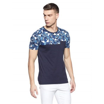 Tommy Hilfiger Men Casual Wear Chest Print T-Shirt