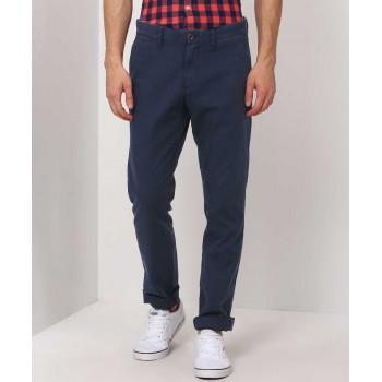 Tommy Hilfiger Men Casual Wear Solid Trouser
