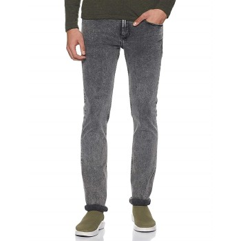 Tommy Hilfiger Men Casual Wear Solid Denim