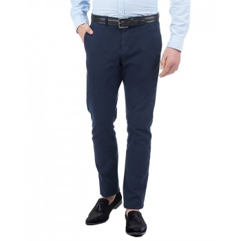 Tommy Hilfiger Men Casual Wear Solid Trouser