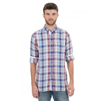 Tommy Hilfiger Men Solid Casual Wear Shirt