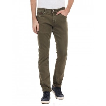 Tommy Hilfiger Men Casual Wear Solid Jeans