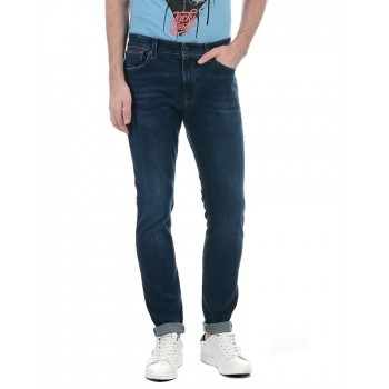 Tommy Hilfiger Men Casual Wear Solid Jeans