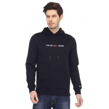 Tommy Hilfiger Men Casual Wear Solid Sweatshirt