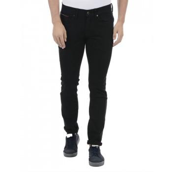 Tommy Hilfiger Men Casual Wear Black Jeans