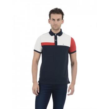 Tommy Hilfiger Men Casual Wear Multicolor T-Shirt