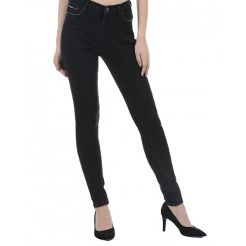Tommy Hilfiger Women Casual Wear Black Jeans