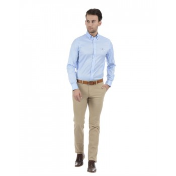 Tommy Hilfiger Men Formal Wear Sky Blue Shirt