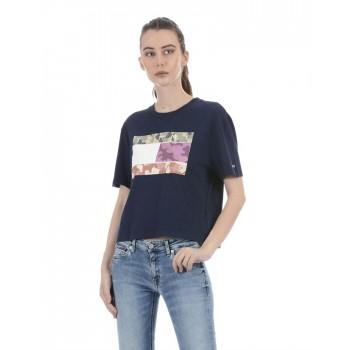 Tommy Hilfiger Women Casual Wear Navy  Top