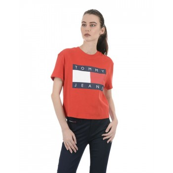 Tommy Hilfiger Women Casual Wear Red Top