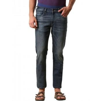 True Blue Men Casual Wear Solid Jean