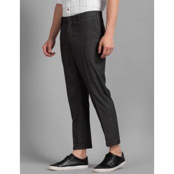True Blue Men Casual Wear Trousers