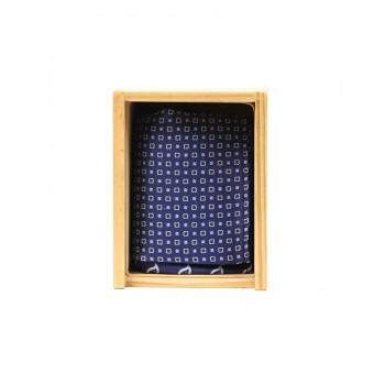 True Blue Men Blue Party Wear Pocket Square