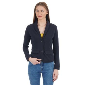 U.S. Polo Assn. Women Casual Wear Solid Blazer