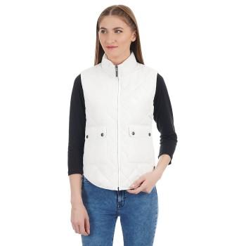 U.S. Polo Assn. Women Casual Wear Solid Jacket