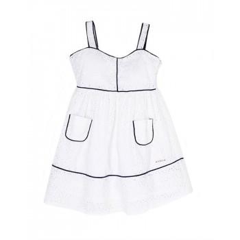 U.S. Polo Assn. Casual Self Design Girls Dress
