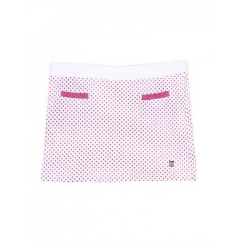 U.S. Polo Assn. Casual Polka Print Girls Skirt