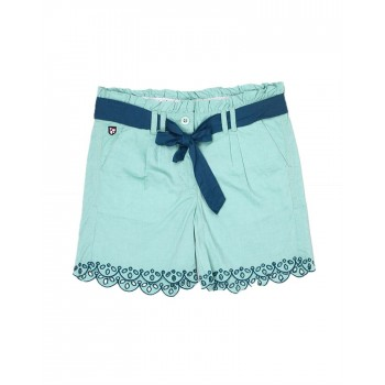 U.S. Polo Assn. Casual Solid Girls Shorts