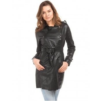 U.S. Polo Assn. Women Casual Wear Solid Trench Coat