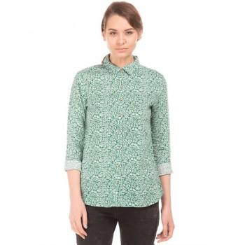 U.S. Polo Assn. Women Casual Wear Floral Print Shirt
