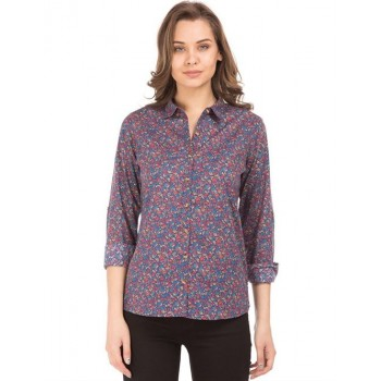U.S. Polo Assn. Women Casual Wear Floral Print Shirt
