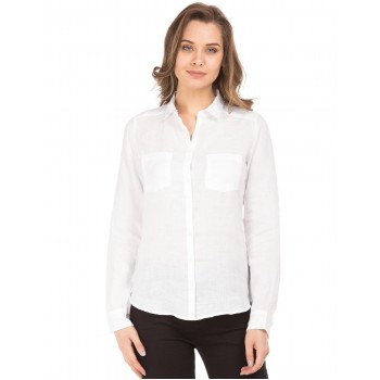U.S. Polo Assn. Women Casual Wear Solid Shirt