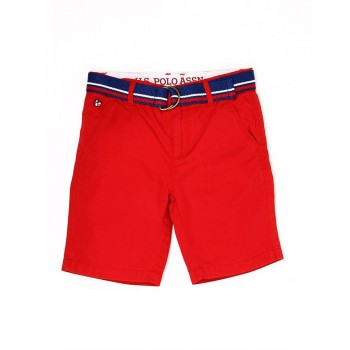 U.S. Polo Assn. Boys Casual Wear Solid Shorts