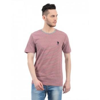U.S. Polo Assn. Men Striped T-Shirt