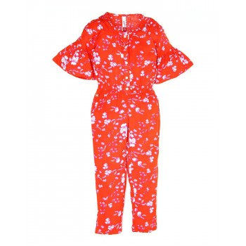 U.S. Polo Assn. Casual Printed Girls Jump Suit