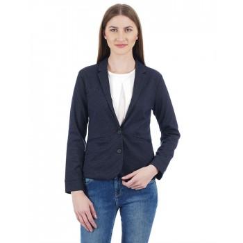 U.S. Polo Assn. Women Textured Casual Wear Blazer