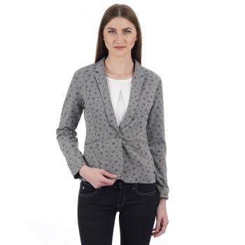 U.S. Polo Assn. Women Printed Casual Wear Blazer