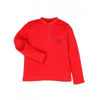 U.S. Polo Assn. Boys Casual Wear Solid T-Shirt