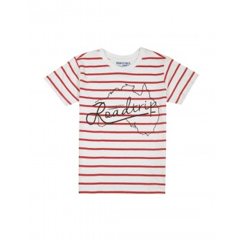 Flying Machine Boys Casual Wear Striped T-Shirt