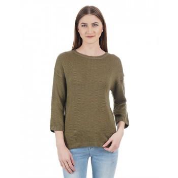 U.S. Polo Assn. Women Casual Wear Woven Sweater