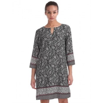 U.S. Polo Assn. Women Casual Wear Printed Dress
