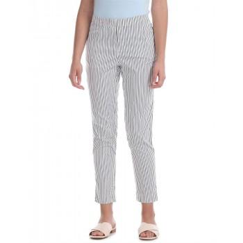 U.S. Polo Assn. Women Casual Wear Striped Trouser