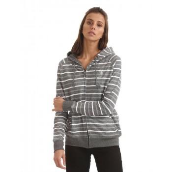 U.S. Polo Assn. Women Casual Wear Striped Sweatshirt