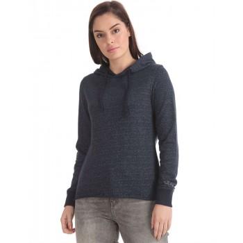 U.S. Polo Assn. Women Casual Wear Printed Sweatshirt
