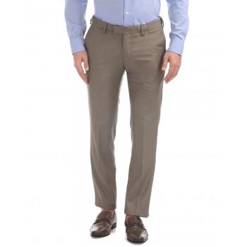 U.S. Polo Assn. Men Solid Formal Wear Trousers