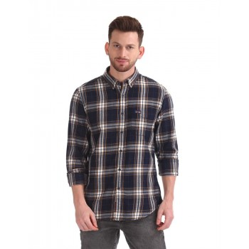 U.S. Polo Assn. Men Checkered Casual Wear Shirt