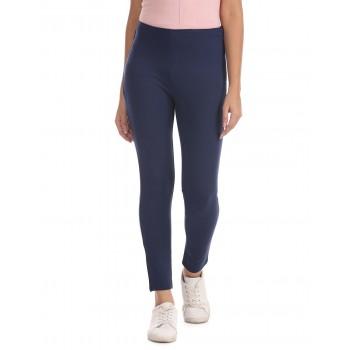 U.S. Polo Assn. Women Solid Casual Wear Trousers