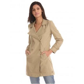 U.S. Polo Assn. Women Solid Casual Wear Coat