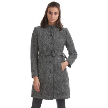 U.S. Polo Assn. Women Casual Wear Textured Trench Coat