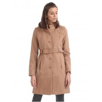 U.S. Polo Assn. Women Casual Wear Solid Trench Coat